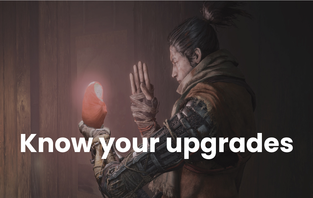 sekiro shadows die twice tips