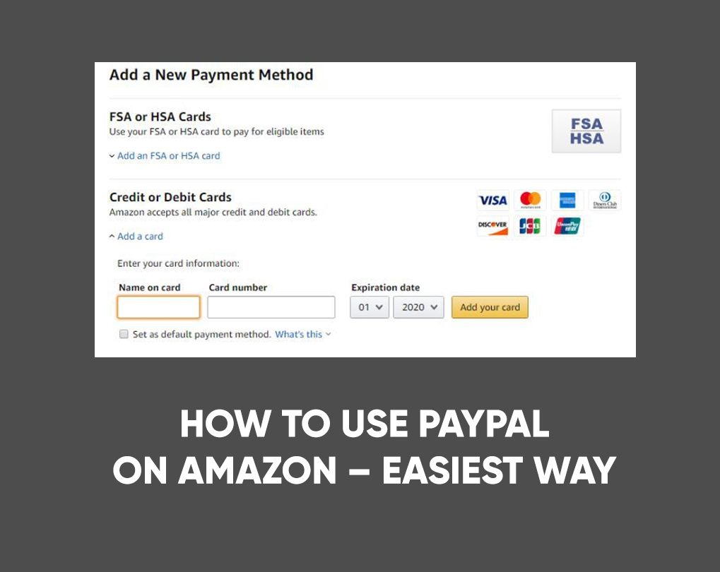 How to Use PayPal on Amazon – Easiest Way