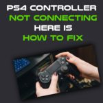Ps4 Controller Not Connecting To Pc
