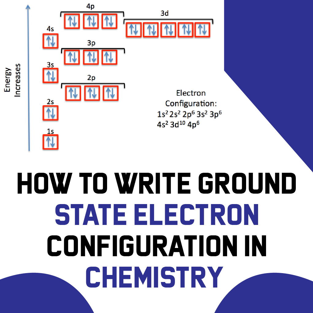 How to Write Ground State Electron Configuration in Chemistry